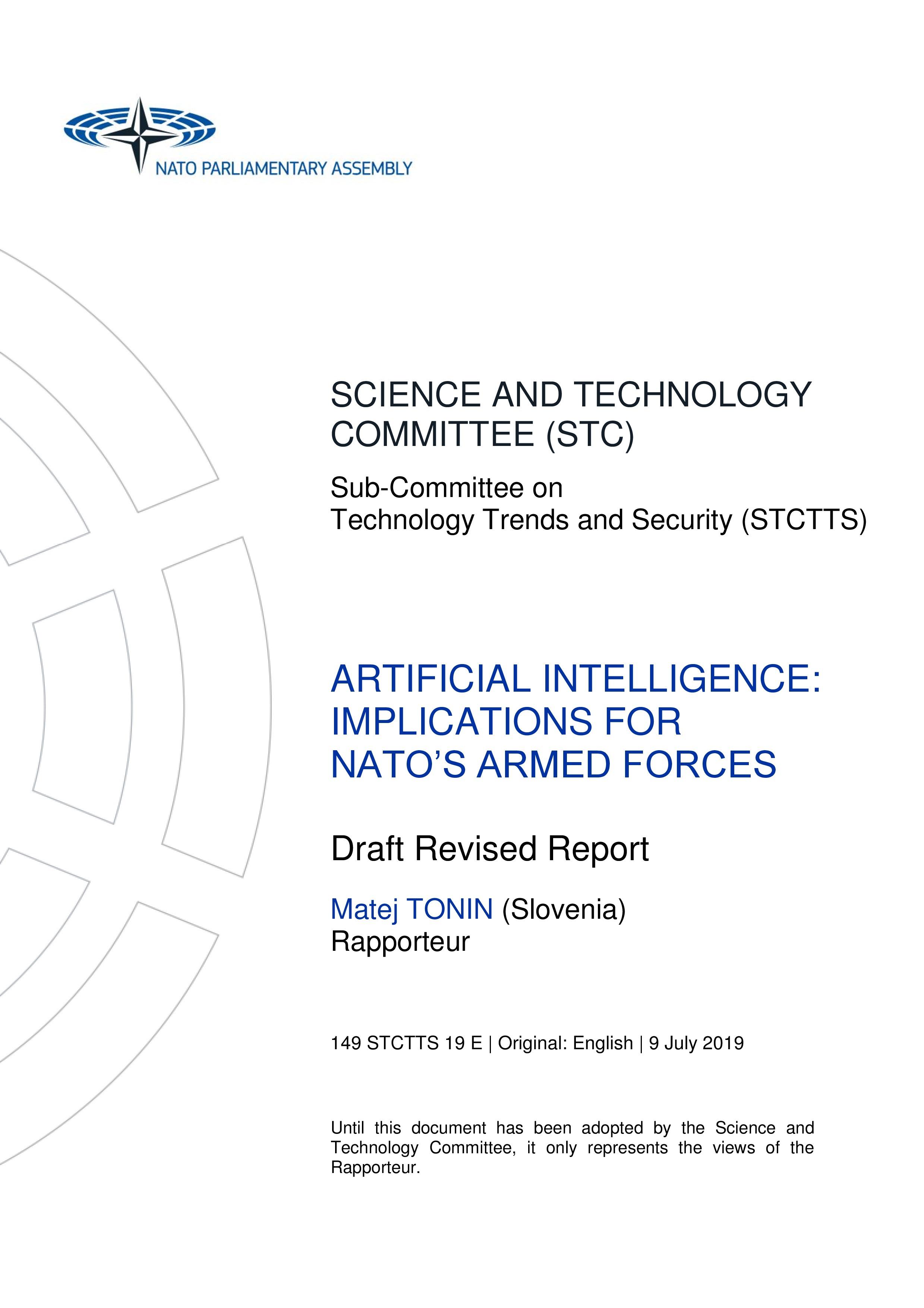 Documents   NATO PA